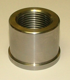 Straight Front Jack Bolt Nut, 4130 Steel