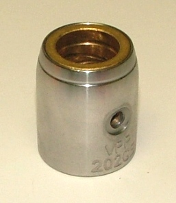 Upper Bushing w/ Bronze Sleeve & Grease Grooves